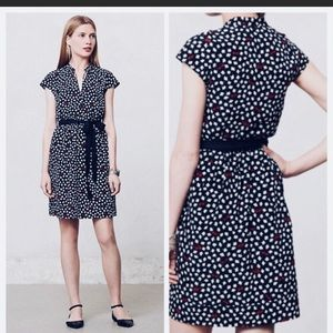 Maeve Anthropologie Dress Floral Sz Medium